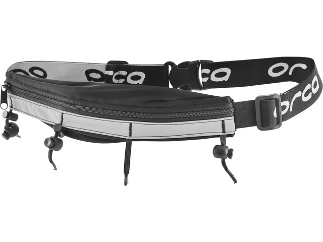 ORCA Race Belt - w/ Zip Pocket noir